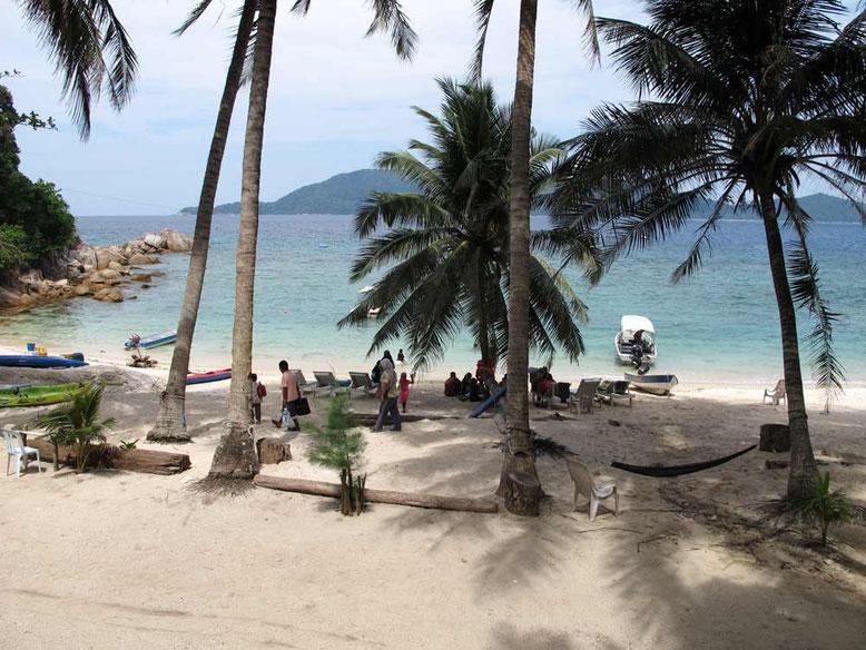 Isole Perhentian. D'LAgoon beach