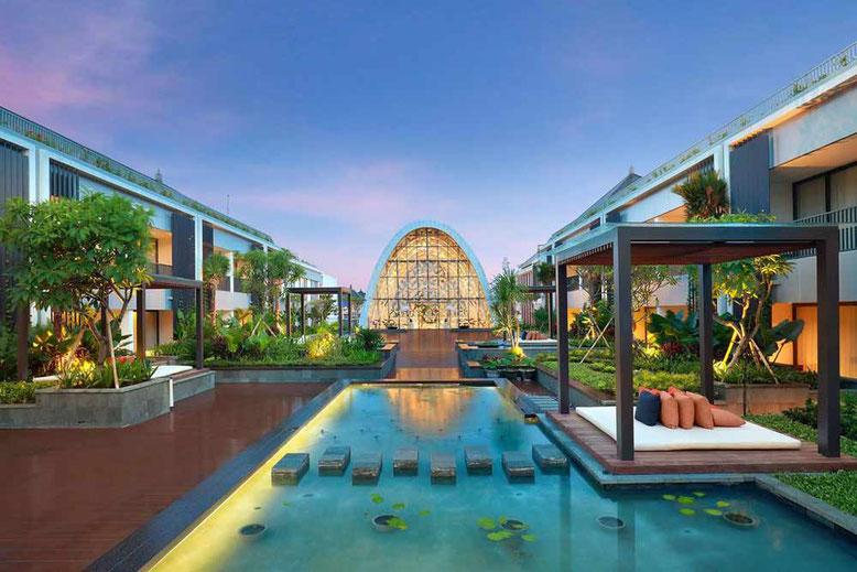 BALI HOTEL DI LUSSO A MENO DI 100 EURO A NOTTE - Aryaduta Bali