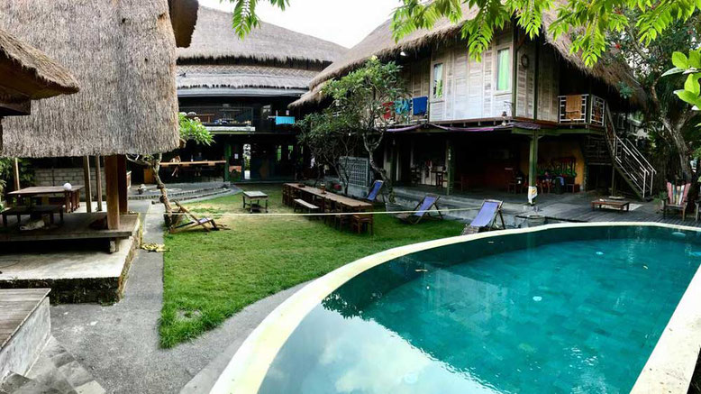 I migliori ostelli a Bali. Da'Housetel Kuta
