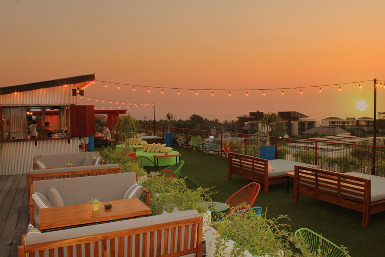The Shack Bar sul rooftop del Dash Hotel Seminyak (Photo by Dash Hotel Seminyak)
