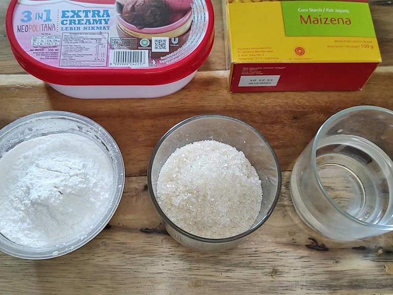 Ricetta Mochi Gelato. Ingredienti