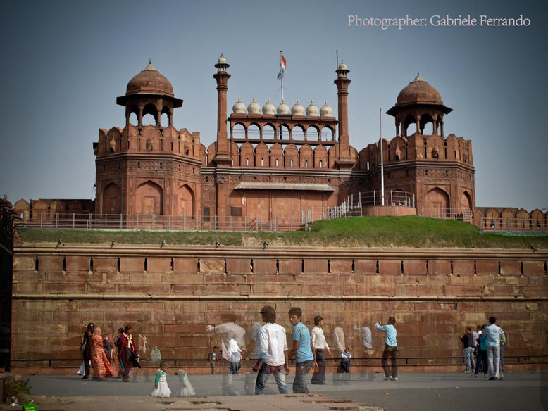 Red Fort Delhi - India