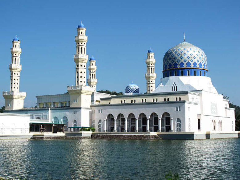 Kota Kinabalu. Sabah State Mosque
