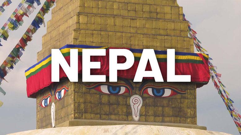 Nepal. Bandiera