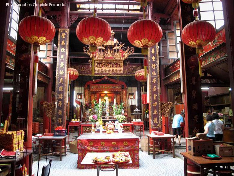 Sze Ya Temple in Kuala Lumpur (Photo by Gabriele Ferrando)