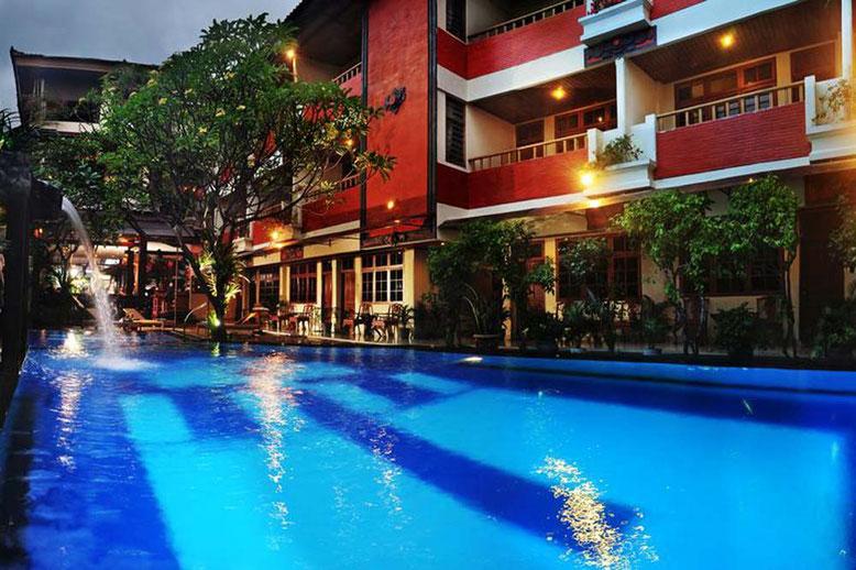 Bali i migliori Hotel a meno di 50 Euro a notte - Green Garden Hotel Kuta