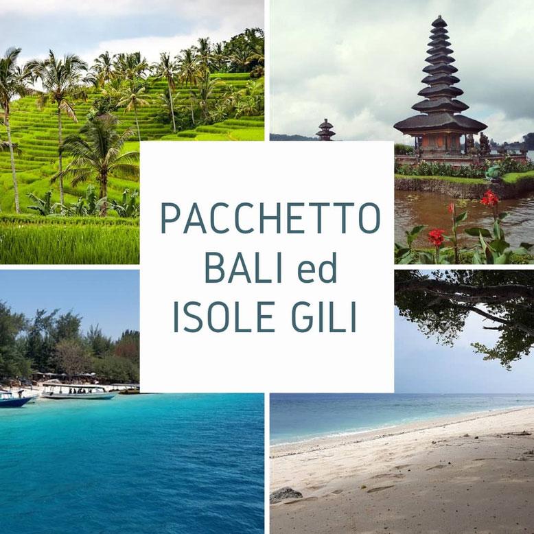 Pacchetto viaggio Bali ed isole Gili
