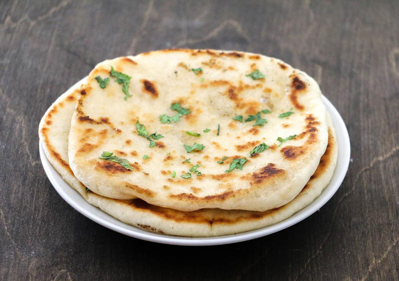 Ricetta del Naan, focaccina indiana