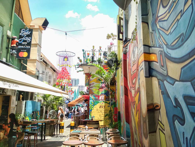 Cosa vedere a Kampong Glam, Singapore