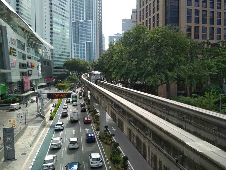 Trasporti a Kuala Lumpur. Monorail
