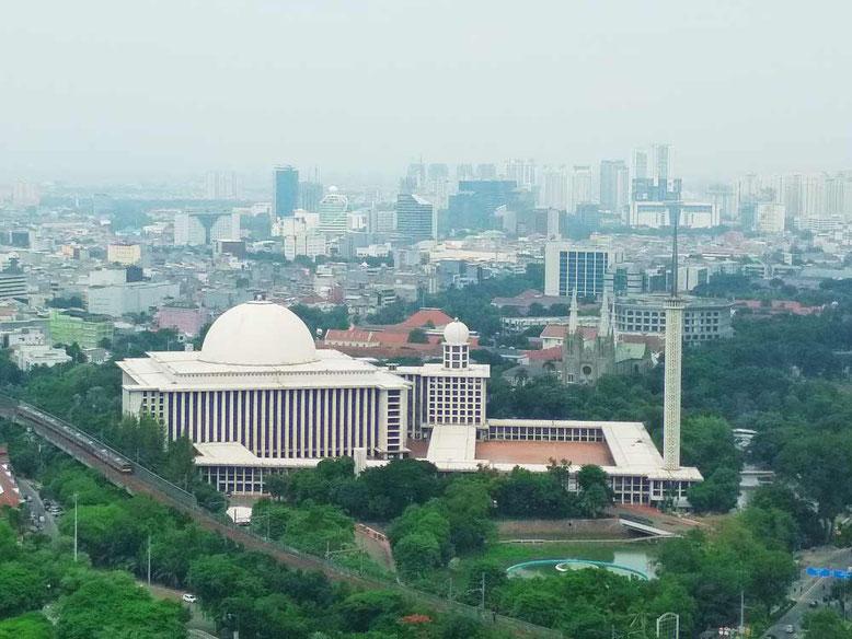 Cosa vedere a Giacarta in 2 giorni. Moschea Istiqlal