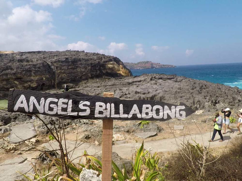 "NUSA PENIDA - ANGEL""S BILLABONG"