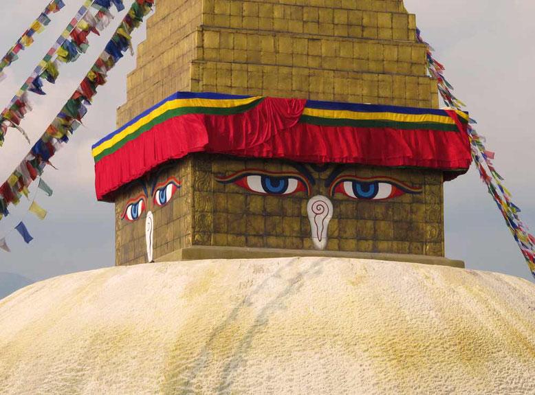 Stupa di Boudhanath a Kathmandu - NEPAL