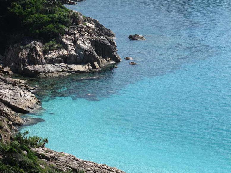 Isole Perhentian. Acqua trasparente