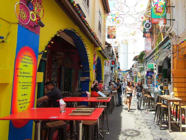 Dove mangiare a Kampong Glam. Piedra Negra