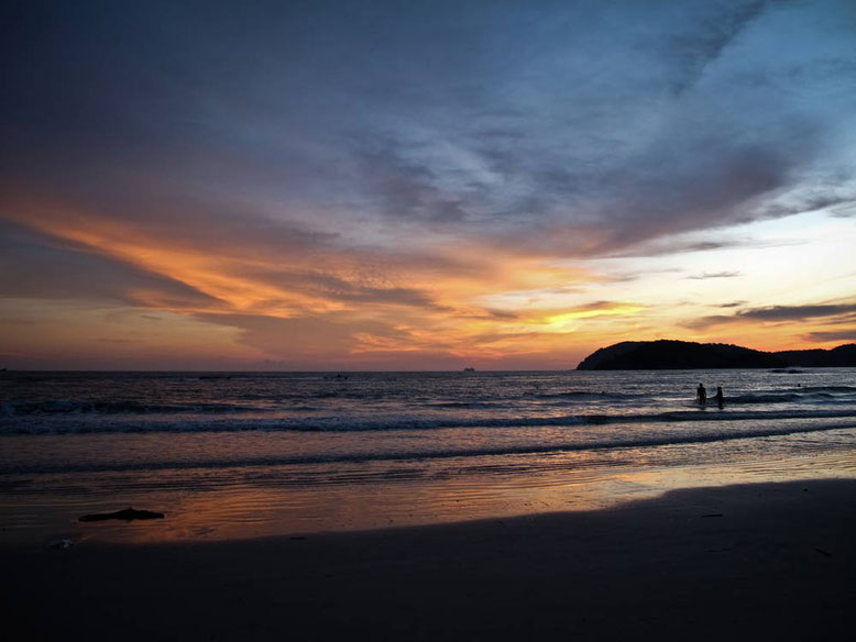 Langkawi. Sunset in Pantai Cenang