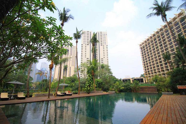 Jakarta: Hotel di lusso a meno di 100 euro a notte. The Sultan Hotel Jakarta