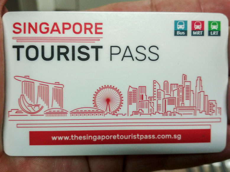 Trasporti a Singapore. Singapore Tourist Pass