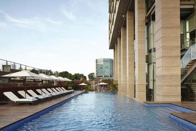 Jakarta: Hotel di lusso a meno di 100 euro a notte. Fraser Residence Jakarta