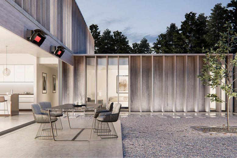 Bromic Heizstrahler für Terrasse