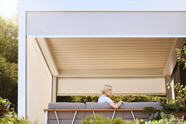 Sonnenschutz am Balkon