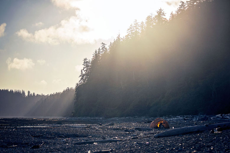 West Coast Trail campground