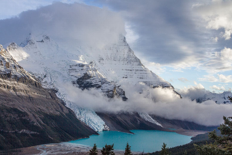 Mt. Robson - the highest peak of the Canadian Rockies