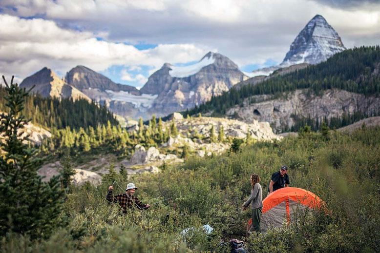 Camping Mt. Assiniboine