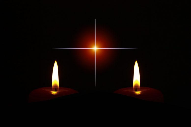 Kerzen Trauerfall (Trauerschmuck) Bestattungslexikon, lexikon-bestattungen, Bestattungsdienste, Bestattungsbedarf
