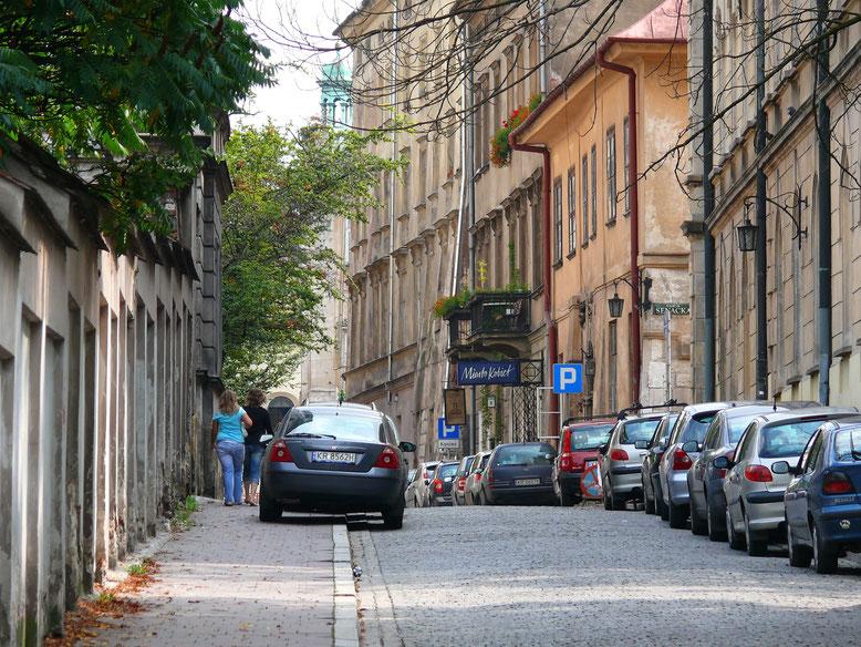 Krakaus Altstadt muss man sich erlaufen... (Foto Jörg Schwarz)