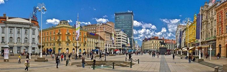 Загреб - столица Хорватии. Поездка в Загреб.