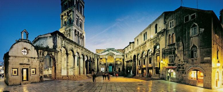 Дворец Диоклетиана. Юнеско. Хорватия.