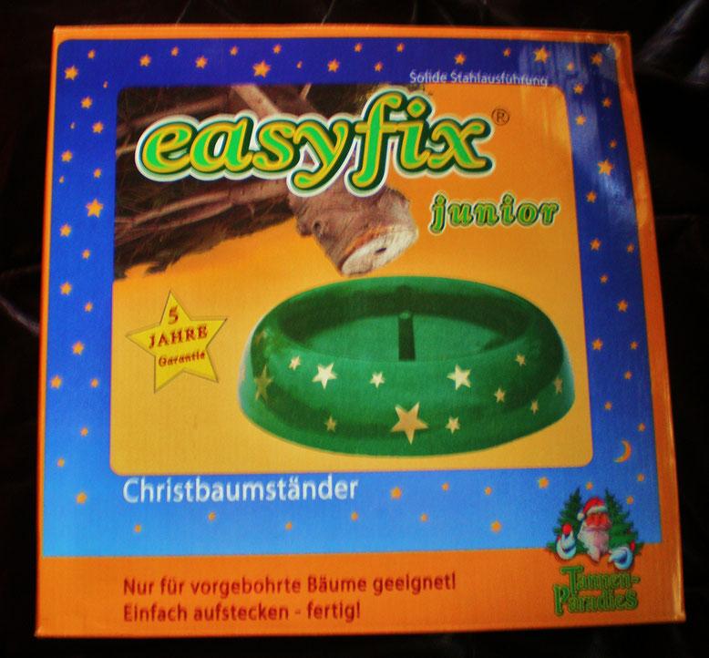 Weihnachtsbaumständer Easyfix für vorgebohrte Christbäume