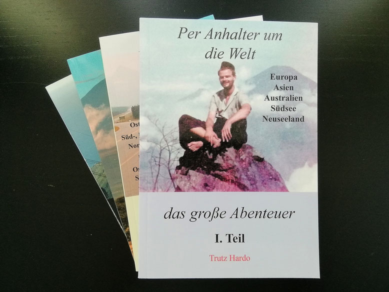 Weltreise - Per Anhalter um die Welt von Trutz Hardo bei Tredition.de