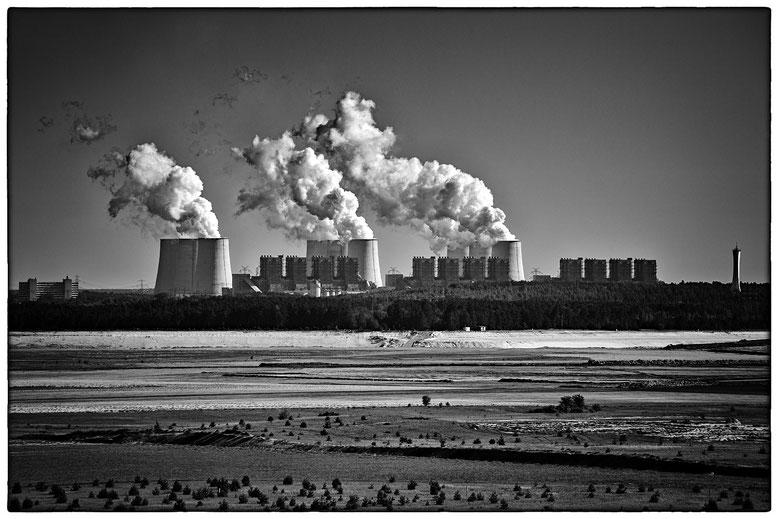 Kohlekraftwerk Jänschwalde bei Cottbus