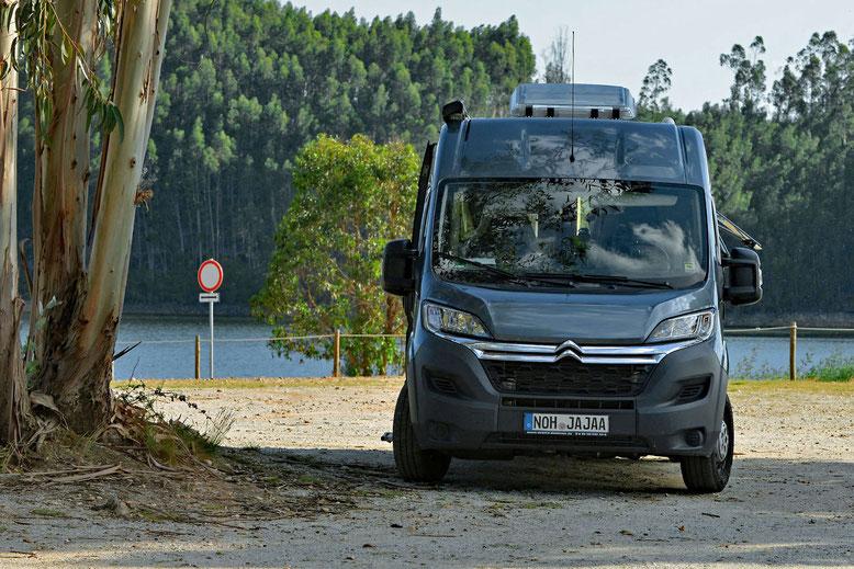 Europareise mit dem Wohnmobil Kastenwagen Clever Vans Tour 540