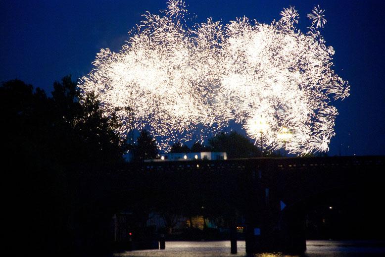 Feuerwerk der guten Wünsche!