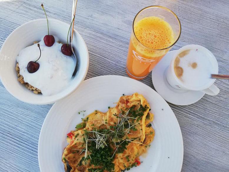 Frühstück im AVITA-Resort