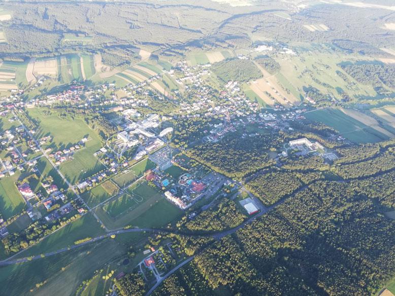 Blick auf Bad Tatzmannsdorf