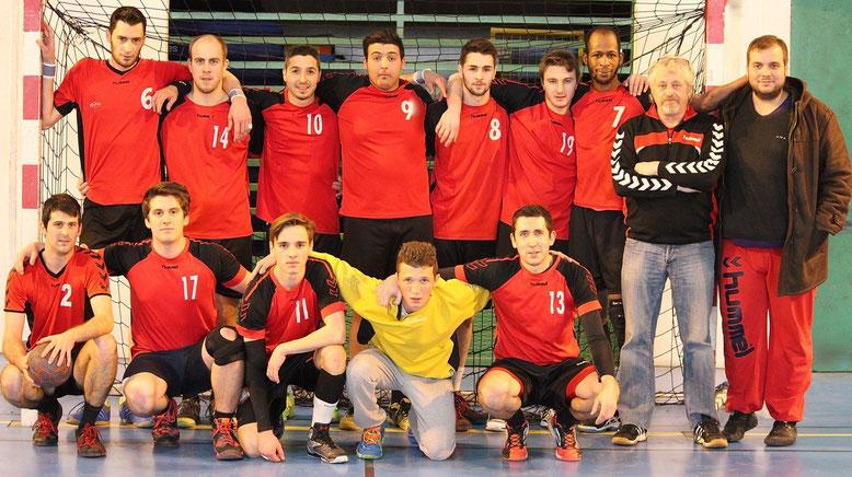 Les séniors garçons en tête de leur championnat.