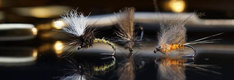 Isarfliegen Shop - Fliegenfischen mit Trockenfliegen, Nymphen und Streamern. Alles was man für das Angeln mit der Fliegenrute benötigt.