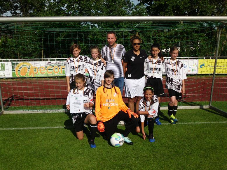 Heider SV D-Juniorinnen, Meister Kreisliga West