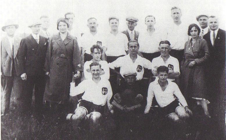 Die 1.Männermannschaft der SVC nach den Aufstiegsspielen