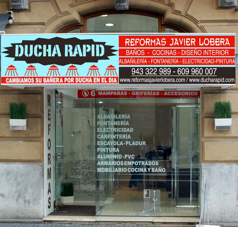 Reformas interiores en San Sebastian, Gipuzkoa