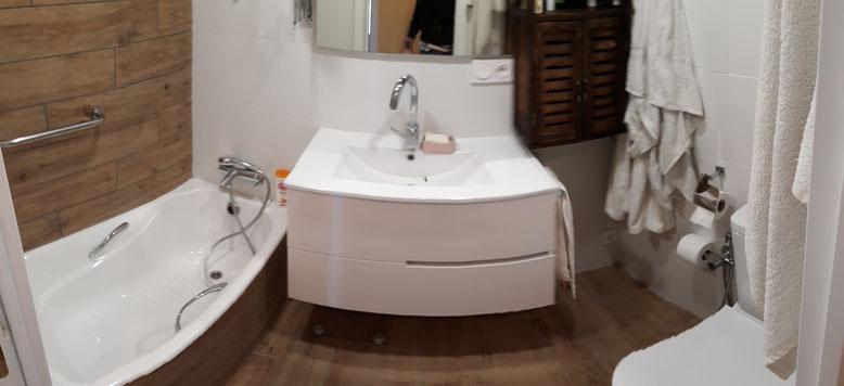 reforma cuarto de baño Donostia