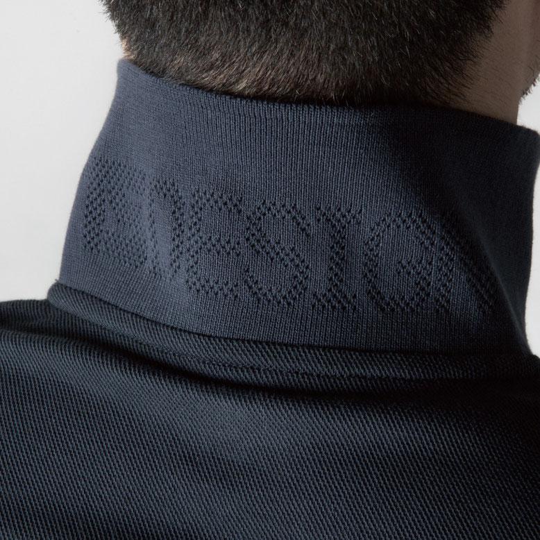 TS DESIGN~TSデザイン~4075ロング・4065 ショート 共通 衿リブジャガードメッシュ