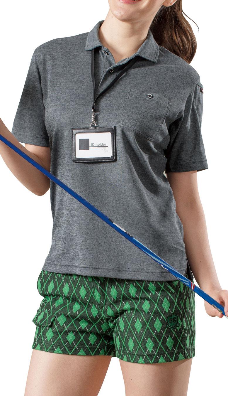 BURTLE~バートル~667 半袖ポロシャツ Xラインデザインでシャープなシルエット