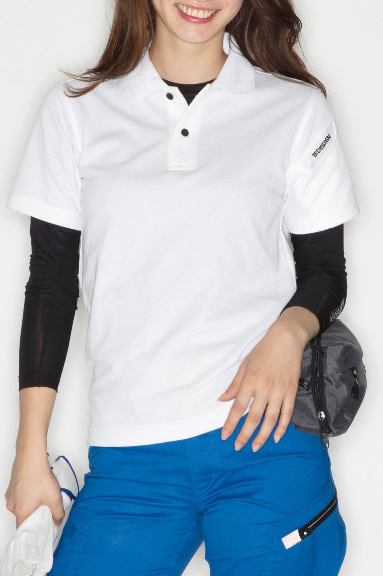 TS DESIGN~TSデザイン~4065 ショートスリーブポロシャツ ¥2,090(税込)
