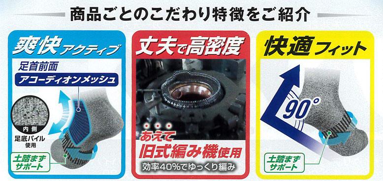日本製消臭糸「ニオイクリア」のこだわり機能のご紹介