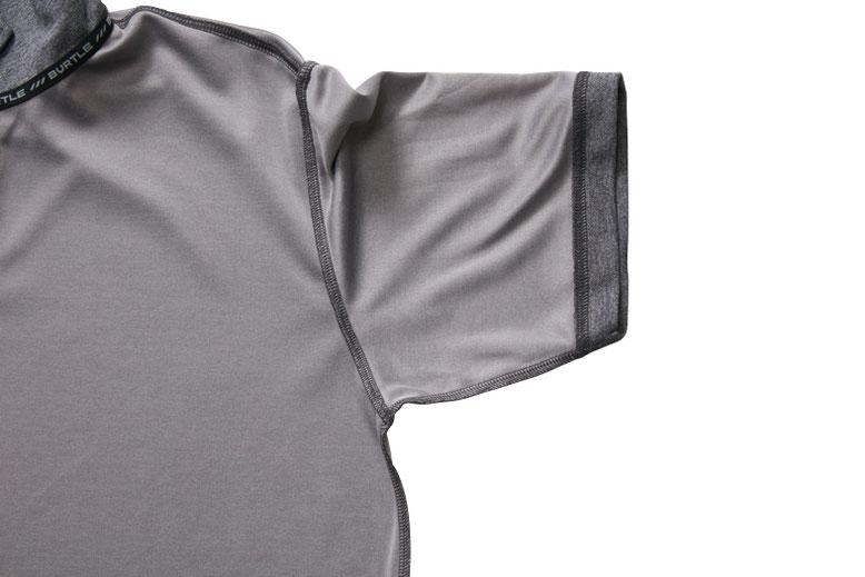 BURTLE~バートル~667 半袖ポロシャツと、665 長袖ポロシャツ。脇に強力消臭テープを装備。
